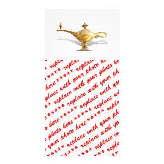 Las Vegas Magic Lamp Photo Card