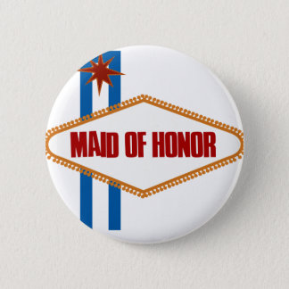 Las Vegas Maid of Honor Button