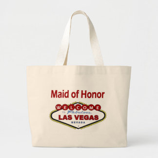 Las Vegas Maid of Honor New Color Deep Red Classic Jumbo Tote Bag