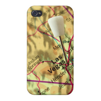 Las Vegas Map iPhone 4/4S Covers