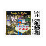 Las Vegas Married Announce Stamp