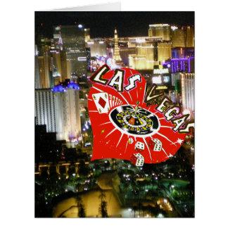 Las Vegas Marry Me Valentine Proposal Card