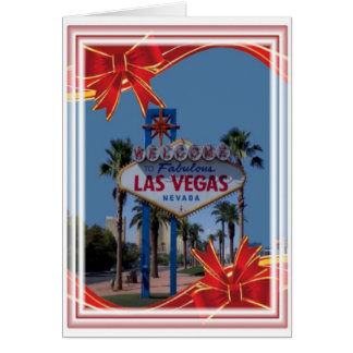Las Vegas Merry Christmas Card