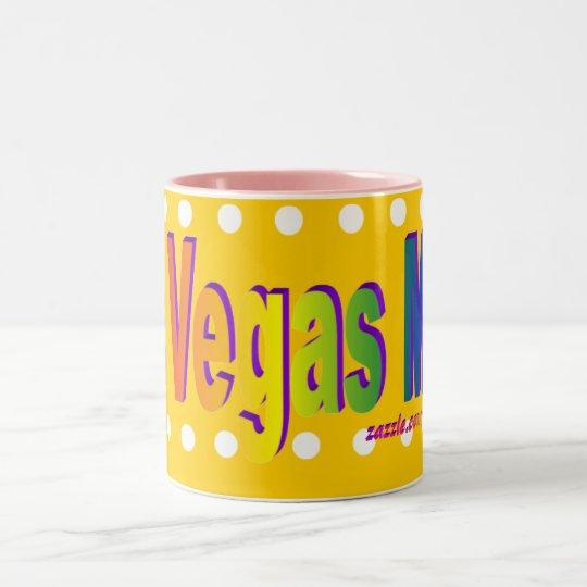 Las Vegas Mom! Yellow Mug