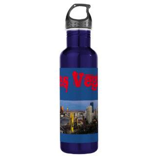 Las Vegas Morning Skyline Water Bottle