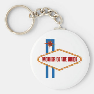 Las Vegas Mother of the Bride Keychain