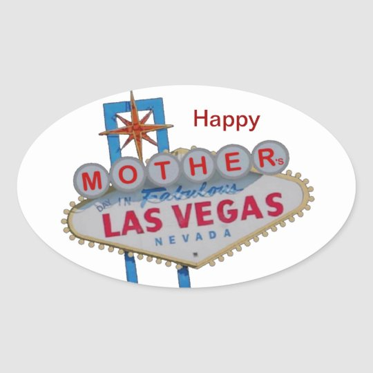 Las Vegas Mother's Day Sticker
