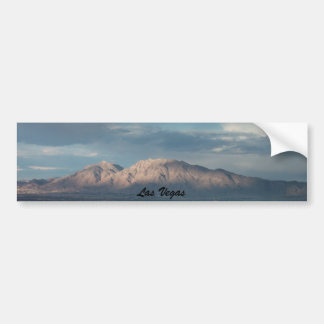 Las Vegas Mountains Bumper Sticker