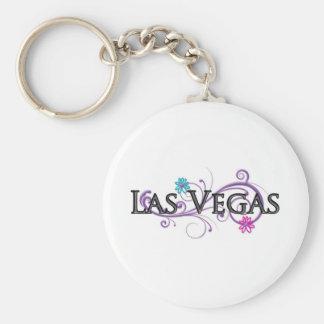 Las Vegas Name Drop Basic Round Button Keychain