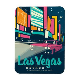 Las Vegas, nanovoltio Rectangle Magnet