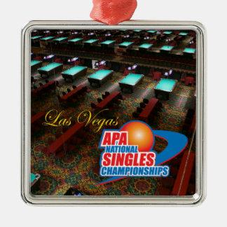 Las Vegas National Singles Championships Metal Ornament