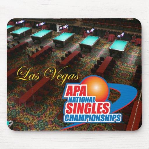 Las Vegas National Singles Championships Mousepad