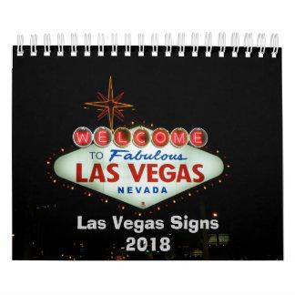 Las Vegas Neon Signs Calendar
