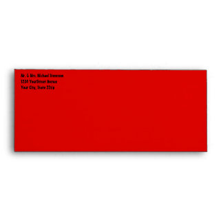 Las Vegas Neon Welcome Sign #10 Envelope