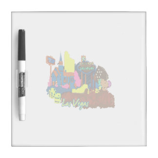 las vegas nevada 2 watercolor city graphic.png dry erase white board