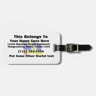 las vegas nevada 4 no txt city graphic.png luggage tag