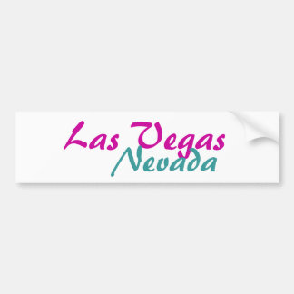 Las Vegas Nevada Bumper Sticker