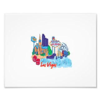 las vegas nevada city graphic.png photographic print