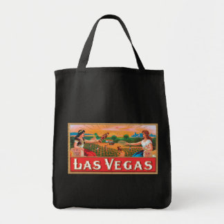 Las Vegas Nevada Dover Vintage Advertising Label Tote Bag
