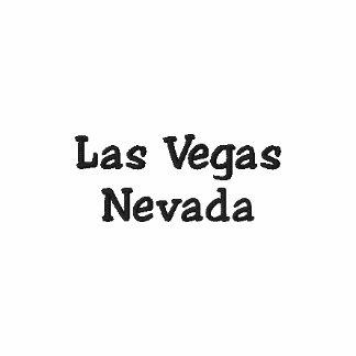 Las Vegas Nevada Embroidered Polo Shirt