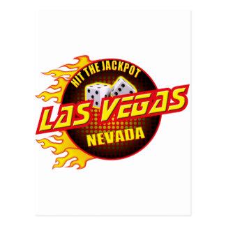 Las Vegas, Nevada - Hit The Jackpot #2 Postcard
