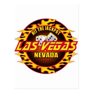 Las Vegas, Nevada - Hit The Jackpot Postcard