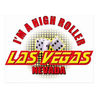 Las Vegas, Nevada - I'm A High Roller #2 Postcard