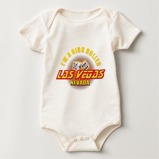 Las Vegas, Nevada - I'm A High Roller Baby Bodysuit