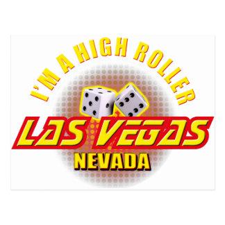 Las Vegas, Nevada - I'm A High Roller Postcard