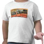 Las Vegas, Nevada - Large Letter Scenes T-shirt