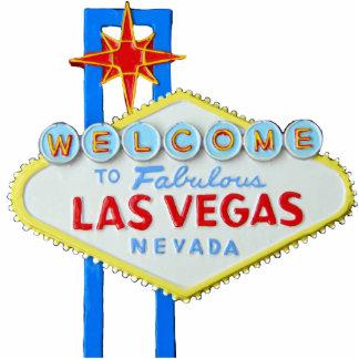 Las Vegas, Nevada, signo positivo Escultura Fotográfica