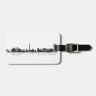 LAS VEGAS, NEVADA SKYLINE LUGGAGE TAG
