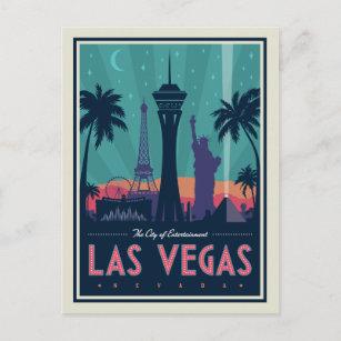 Las Vegas, Nevada   Skyline Postcard