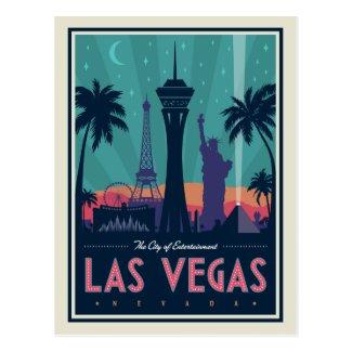 Las Vegas, Nevada | Skyline Postcard
