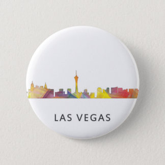 LAS VEGAS, NEVADA SKYLINE WB1 - BUTTON