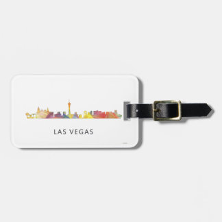 LAS VEGAS, NEVADA SKYLINE WB1 - LUGGAGE TAG