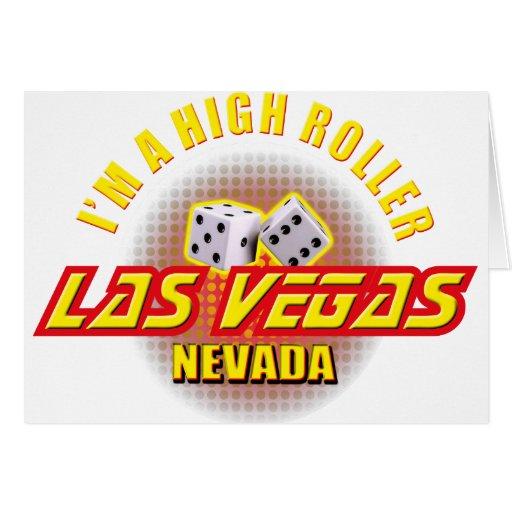 Las Vegas, Nevada - soy gran apostador Tarjeton