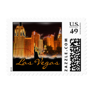 Las Vegas Nevada stamp
