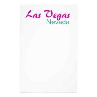 Las Vegas Nevada Stationery