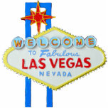 "Las Vegas, Nevada, Welcome Sign Statuette<br><div class=""desc"">A fun decoration for desk or bookshelves - the famous Las Vegas Welcome sign.</div>"