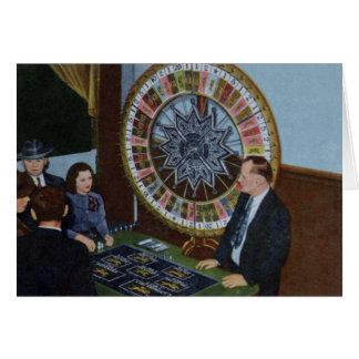 Las Vegas Nevada Wheel of Fortune Card