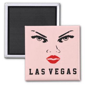 Las Vegas, Nevada Woman Refrigerator Magnet