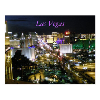 Las Vegas NevadaBoulevard Strip Nevada Postcard