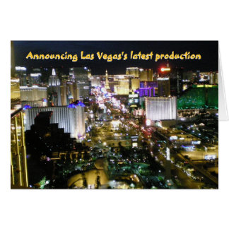 Las Vegas  New Baby Announcement
