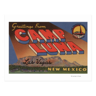 Las Vegas, New México - campo Luna Tarjeta Postal