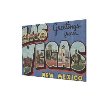 Las Vegas, New México - escenas grandes 2 de la le Lona Envuelta Para Galerías