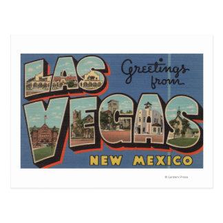 Las Vegas, New México - escenas grandes 2 de la Postal