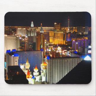 Las Vegas night time Mouse Pad