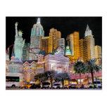 Las Vegas Nueva York - postal de Nueva York