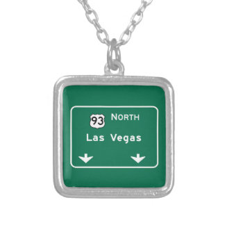 Las Vegas, NV Road Sign Pendants